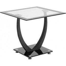 Hanley Glass Lamp Table