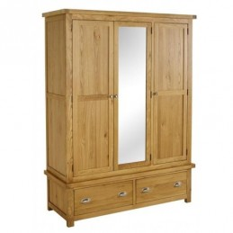 Woburn Oak 3 Door 2 Drawer...