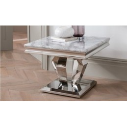 Truro Marble Lamp Table