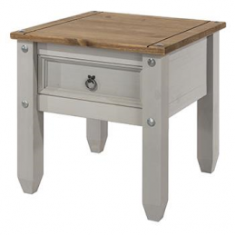 Core Corona Grey Lamp Table