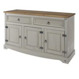 Core Corona Grey 2 Drawer 3...