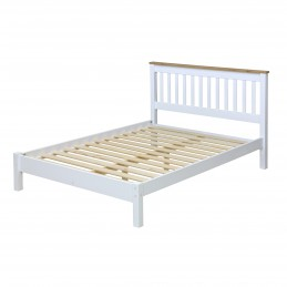 Capri White & Pine 4ft6...