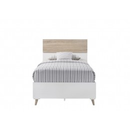 Stockholm Oak & White Beds