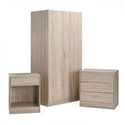 Delta 3 Piece Bedroom Set...