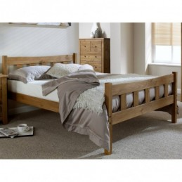 Havana Pine High Foot End Beds