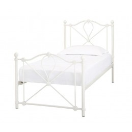 Bronte White Metal Beds