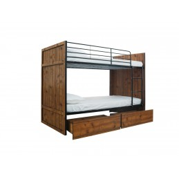Rocco Vintage Oak Bunk Bed...