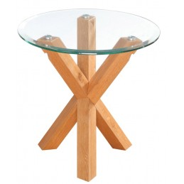 Oporto Solid Oak Lamp Table...