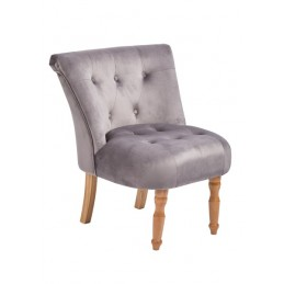 Lydia Soft Fabric Accent Chair