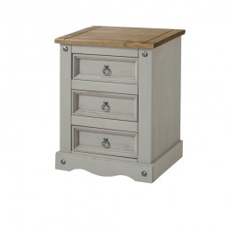 Core Corona Grey 3 Drawer...