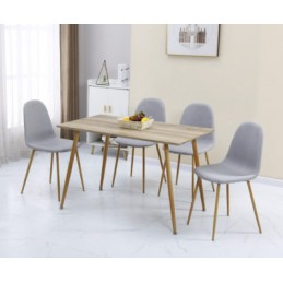 Barley Oak Effect Dining Set