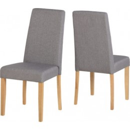 Rimini Grey Fabric Dining...