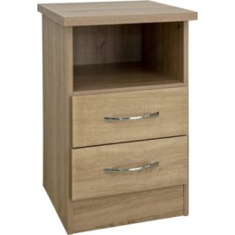 Nevada Sonoma Oak 2 Drawer...