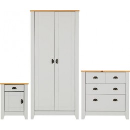Ludlow Oak & White or Grey...