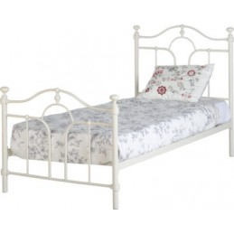 Keswick Cream Metal Beds