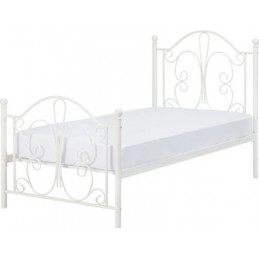 Annabel White Metal Beds