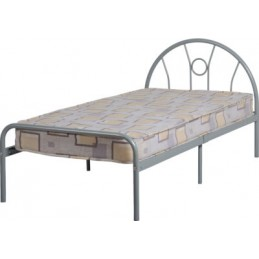 Nova SIlver 3ft Metal Bed