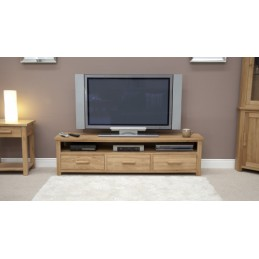 Modern Solid Oak Wide...