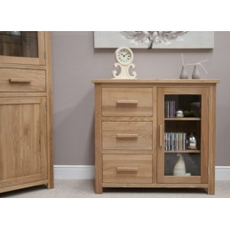 Modern Solid Oak Small...