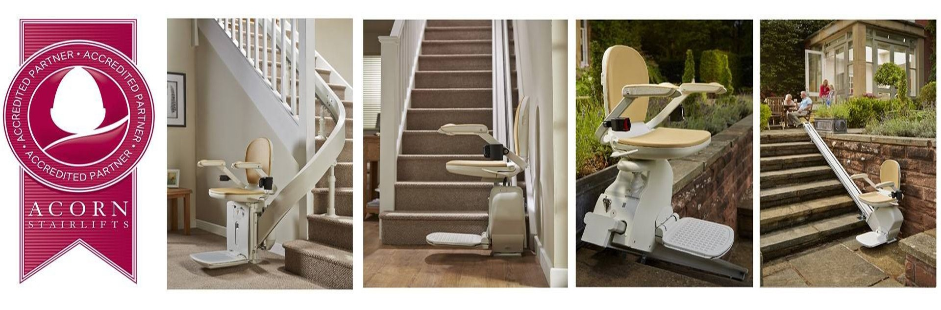Proud Partner of ACORN STAIRLIFTS - Call Our Free Phone 0800 016 9471